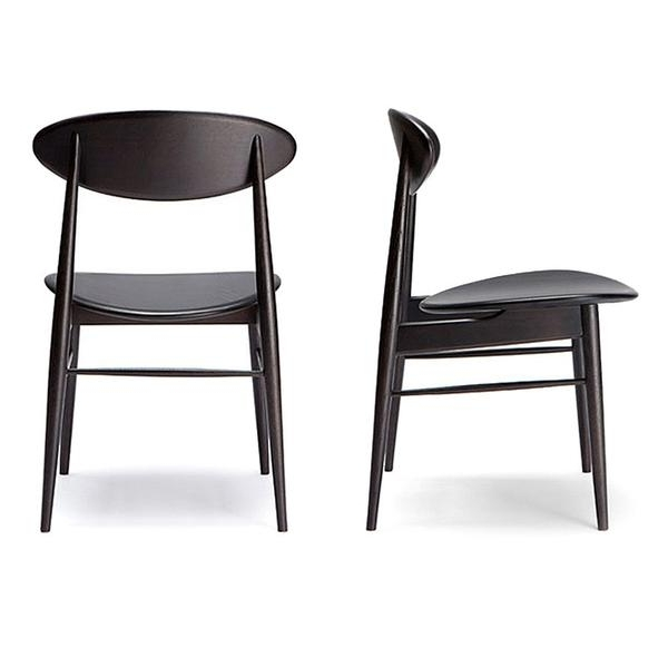 Most Recently Released Black Dining Chairs In Black Dining Chairs  (View 15 of 20)