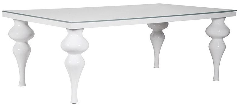 Most Recently Released Buy White High Gloss Rectangular Dining Table – 210cm Online – Cfs Uk In Cheap White High Gloss Dining Tables (View 3 of 20)
