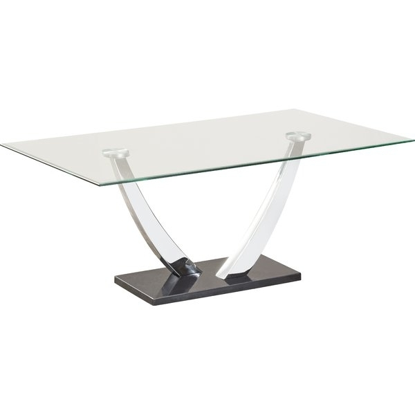 Most Recently Released Caden Rectangle Dining Tables For Wade Logan Caden Coffee Table & Reviews (View 15 of 20)