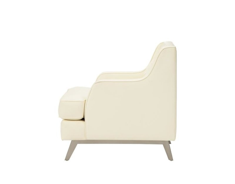 Most Recently Released Caden Upholstered Side Chairs Within Rosdorf Park Caden Leather Upholstered Armchair (View 10 of 20)