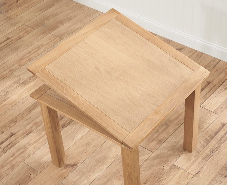 Most Recently Released Cheap Oak Dining Tables Regarding Buy Mark Harris Sandringham Solid Oak Dining Table – 90Cm Square (View 10 of 20)
