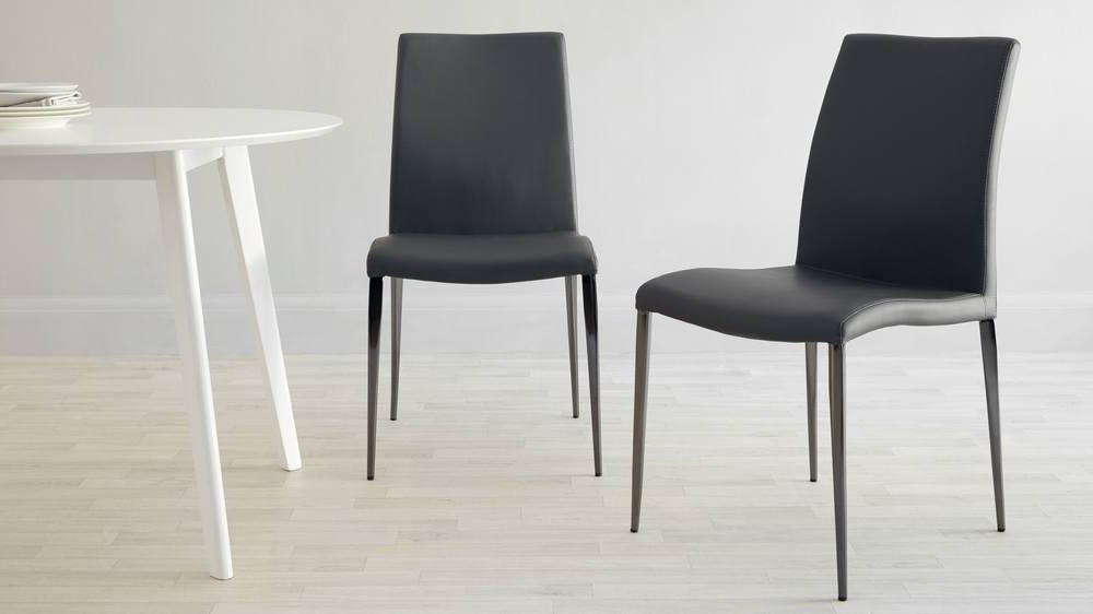 Most Recently Released Chrome Dining Chairs Throughout Black Chrome Dining Chair (View 16 of 20)