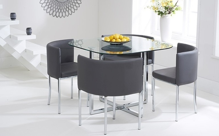 Most Recently Released Contemporary Dining Tables Sets Regarding Dining Table Sets (View 16 of 20)