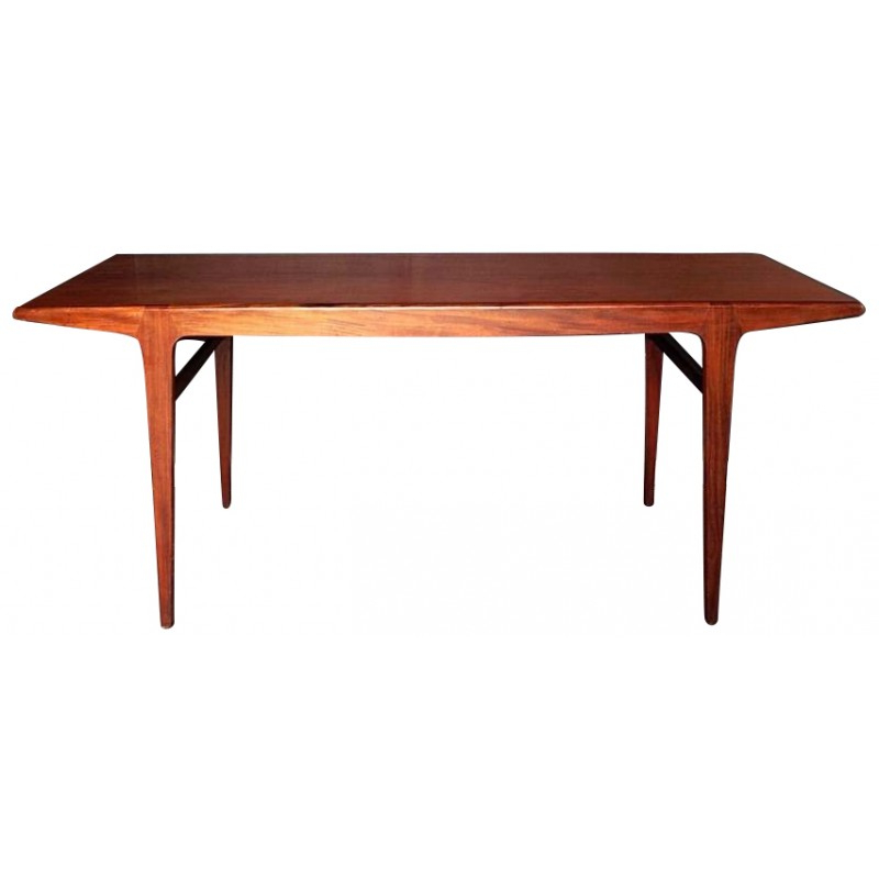 Most Recently Released Danish Style Dining Tables For Scandinavian Dining Table In Teak – 1960S – Design Market (View 12 of 20)