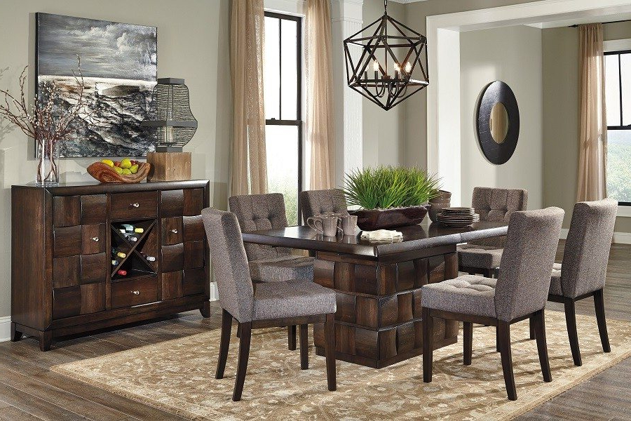 Most Recently Released Dark Dining Room Tables Within Dark Dining Room Furniture – Domainmichael (View 14 of 20)