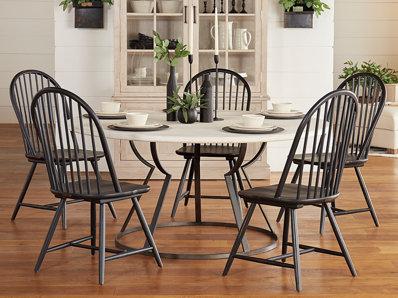 Most Recently Released Dining For Magnolia Home Top Tier Round Dining Tables (View 14 of 20)
