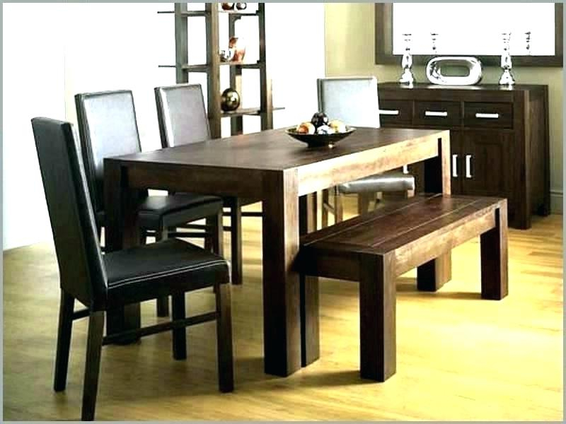 Most Recently Released Dining Room Benches With Backs Modern Table Bench And Chairs The Within Dining Tables Bench Seat With Back (View 14 of 20)