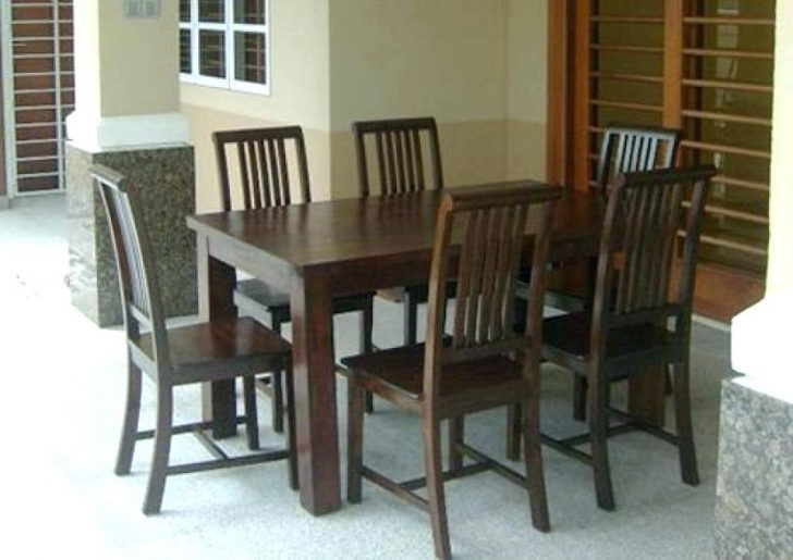 Most Recently Released Dining Tables And Six Chairs For Dining Table And Six Chairs Round Glass For 6 Modern Foter With Ege (View 4 of 20)