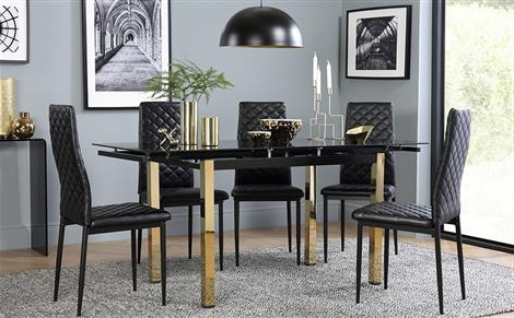 Most Recently Released Extendable Dining Table & Chairs – Extending Dining Sets (View 14 of 20)