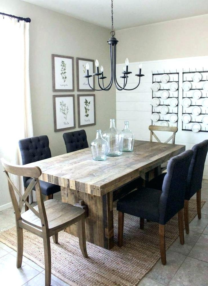 Most Recently Released Farm House Dining Tables Farmhouse Chairs Rustic Metal Wood With A Within Barn House Dining Tables (View 13 of 20)