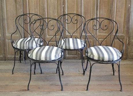 Most Recently Released Full Bloom Cottage Regarding Garten Onyx Chairs With Greywash Finish Set Of  (View 15 of 20)