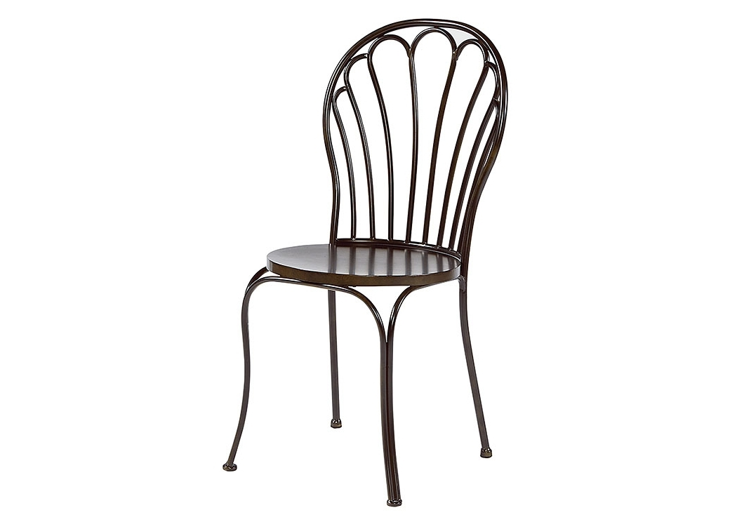 Most Recently Released Furniture & More Galleries Peacock Chair, Blackened Bronze (Set Of 2) Regarding Magnolia Home Kempton Bench Side Chairs (View 12 of 20)
