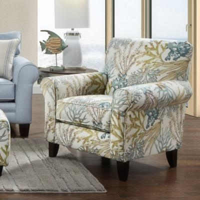 Most Recently Released Fusion Furniture Accent Chairs 502 Chair – Coral Reef Carribean Within Cora Ii Arm Chairs (View 16 of 20)