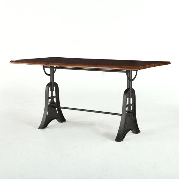 Most Recently Released Gathering Table Craftsman Mission Solid Top Gathering Pub Table In Magnolia Home Taper Turned Bench Gathering Tables With Zinc Top (View 11 of 20)