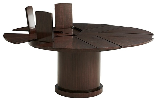 Most Recently Released Helm Extending Dining Table – Dining Tables  Maison Xxiv Throughout Helms Rectangle Dining Tables (View 11 of 20)