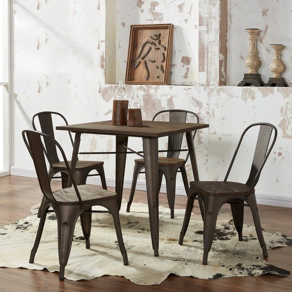 Most Recently Released Industrial Style Dining Tables In Shop Carbon Loft Pemberton Industrial Style Dining Table – Free (View 16 of 20)