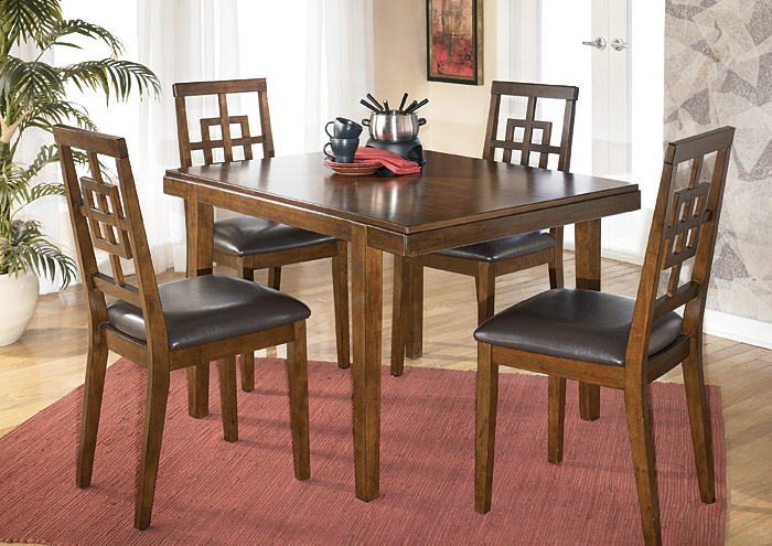 Most Recently Released Jaxon 5 Piece Extension Counter Sets With Fabric Stools Inside Johnson's Furniture Cimeran 5 Piece Dinette Set (View 14 of 20)