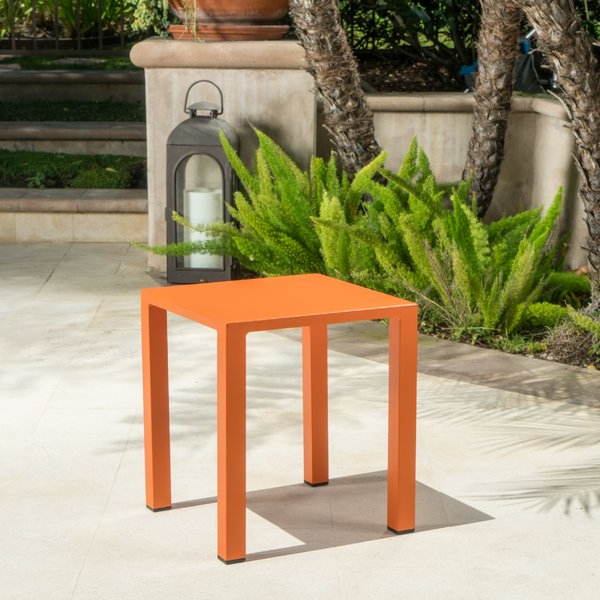 Most Recently Released Koverton Outdoor Aluminum Side Table (View 10 of 20)