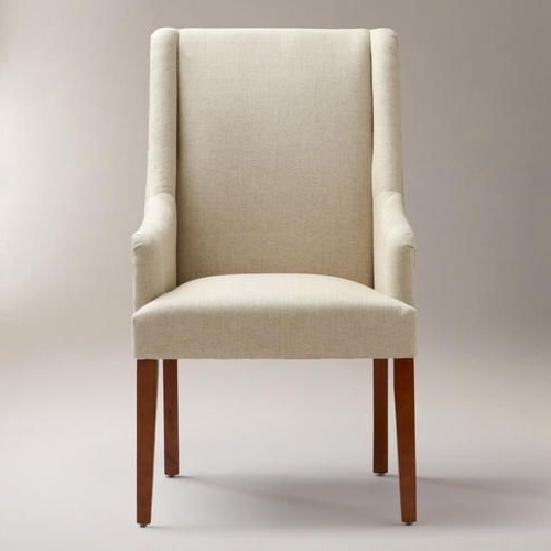 Most Recently Released Linen Hayden Dining Chair From World Market (My Only Concern Is Throughout Market Host Chairs (View 14 of 20)