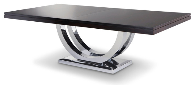 Most Recently Released Metro Dining Tables Inside Metro Chrome Base Dining Table – Modern – Dining Tables – Other – (View 15 of 20)