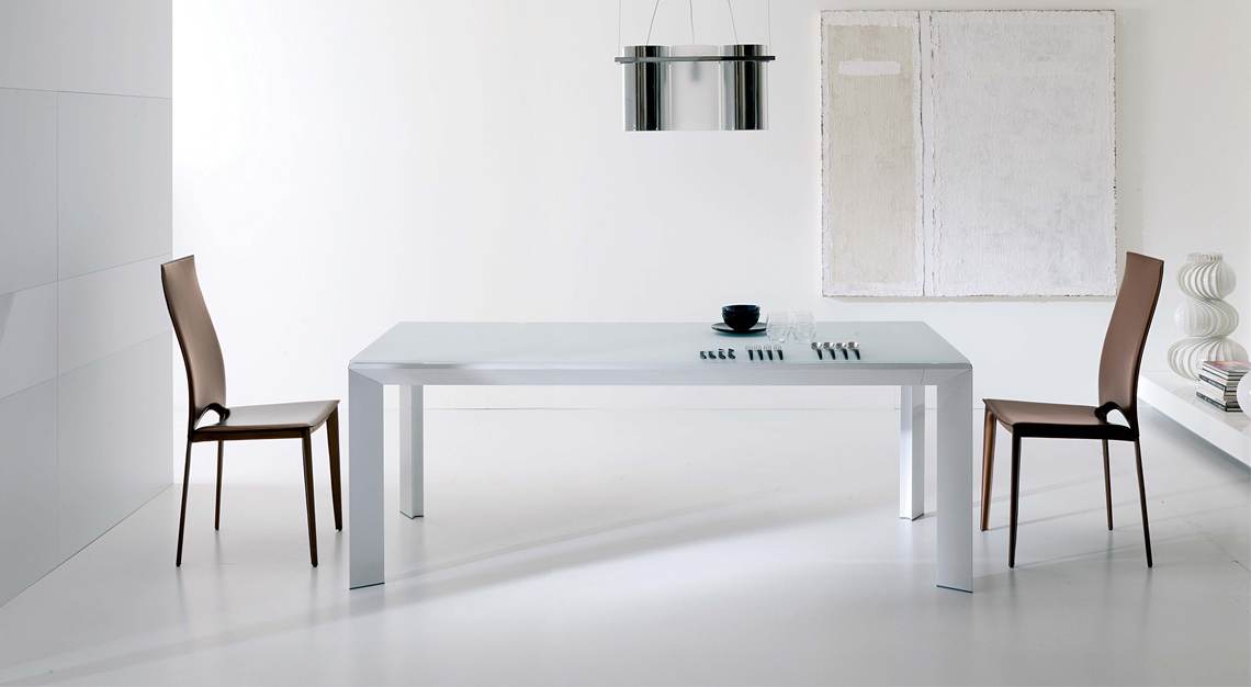 Most Recently Released Metro Dining Tables With Regard To Ozzio Italia (View 14 of 20)