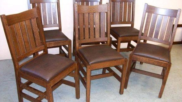 Most Recently Released Oak Dining Room Set With 6 Chairs – Ezvanity (View 15 of 20)