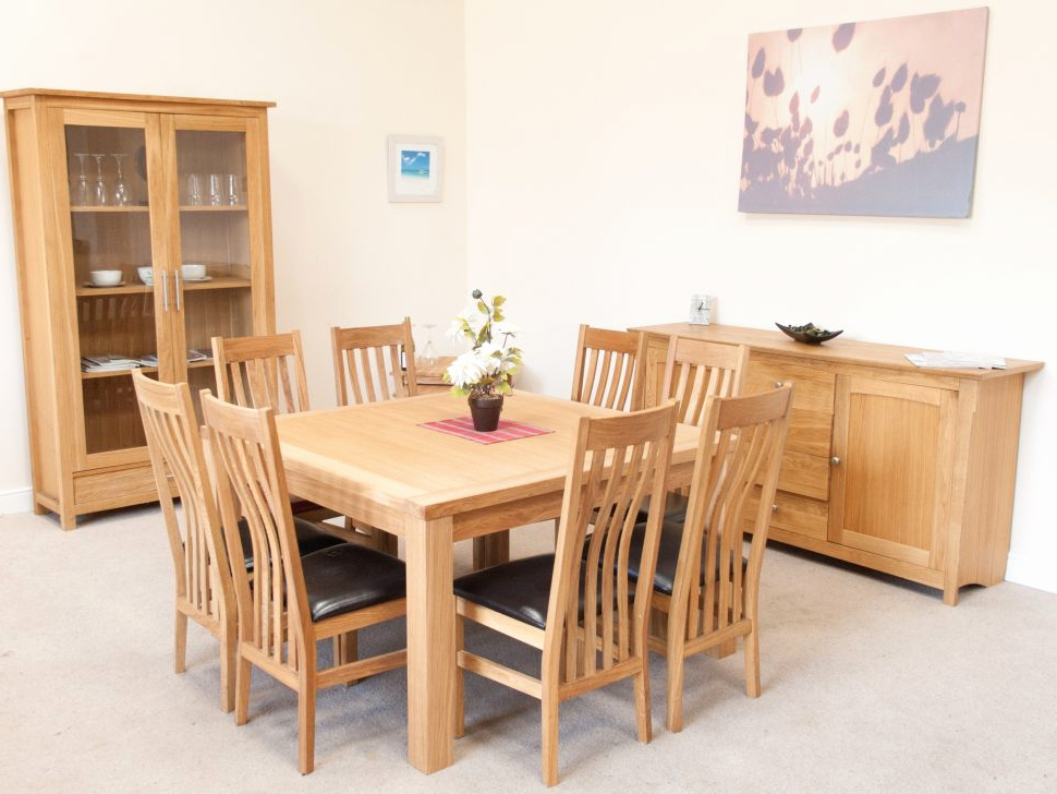 Most Recently Released Oak Dining Table 8 Chairs New Inspirational Dining Table And Chairs In Oak Dining Tables And 8 Chairs (View 16 of 20)