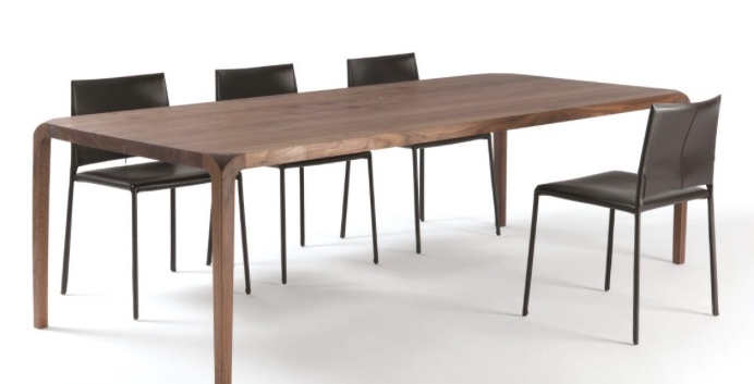 Most Recently Released Sleek Dining Tables In Dining Tables: Sleek Table (View 9 of 20)