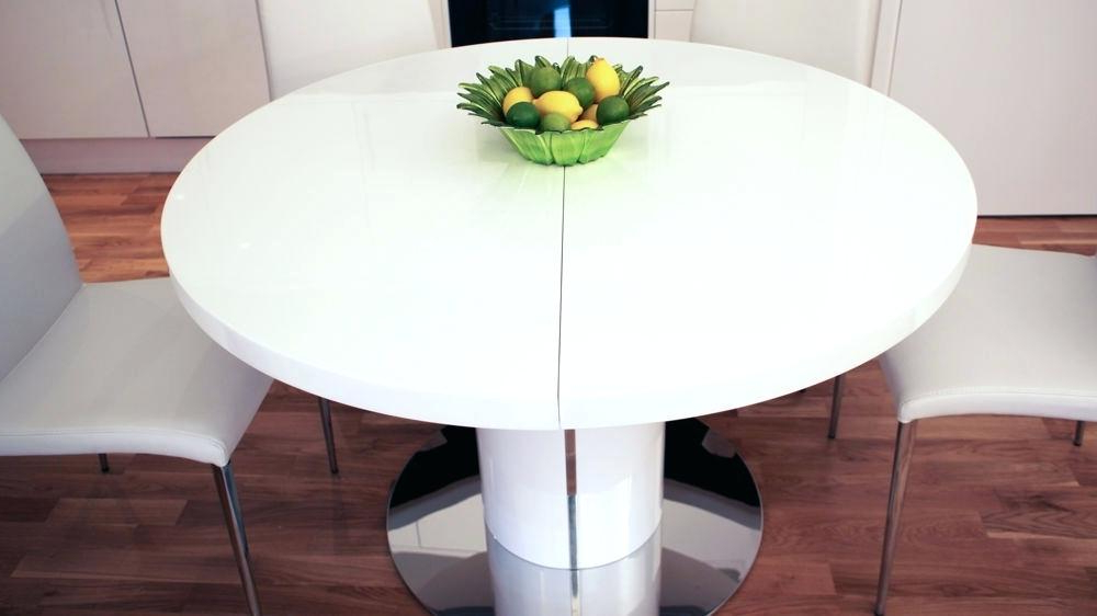 Most Recently Released Small White Extending Dining Table – Murphy Bed Furniture Trumpdown (View 5 of 20)