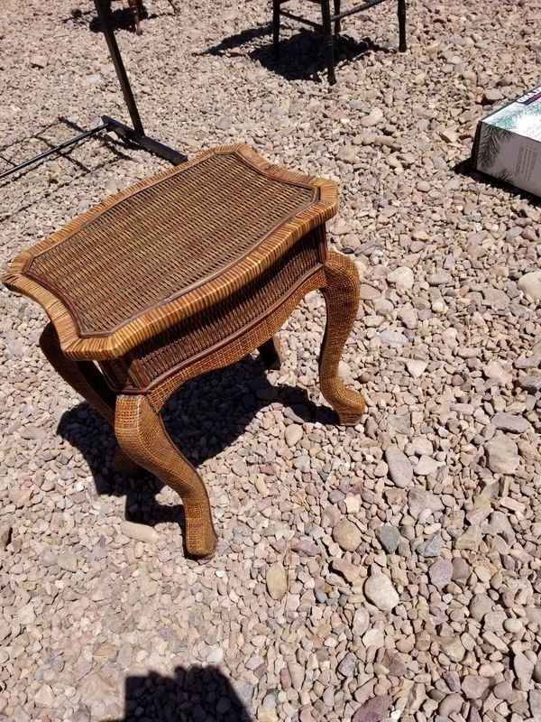 Most Recently Released Vintage Antique Bed Side Table Wicker Wooden (antiques) In Chandler Inside Chandler Wood Side Chairs (View 17 of 20)