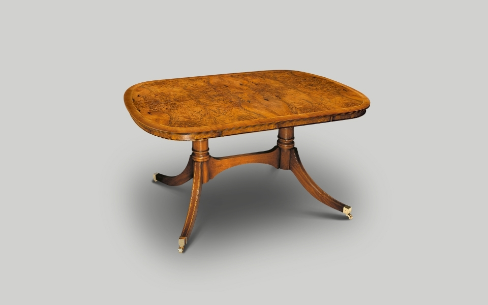 Most Up To Date 3Ft Dining Tables Pertaining To English Reproduction Dining Furniture & Dining Tables (View 19 of 20)