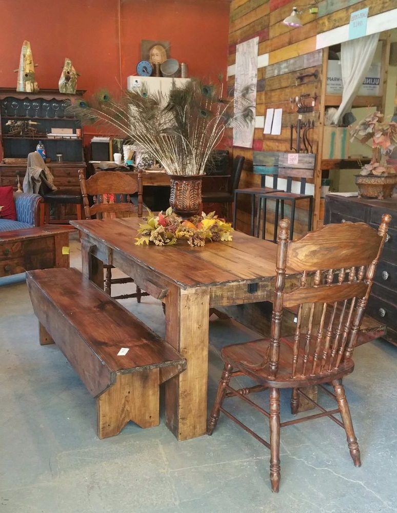 Most Up To Date 6' Rustic Dining Room Table Reclaimed Barn Board Finish, Rustic In Magnolia Home Prairie Dining Tables (View 13 of 20)