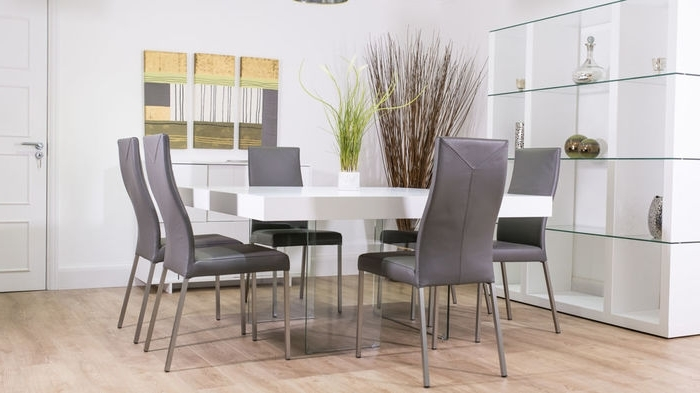 Most Up To Date 8 Seater White Dining Tables In (View 11 of 20)