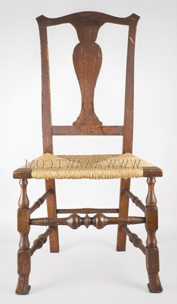 Most Up To Date Antique Furniture Chairs, Early, Pilgrim, American Regarding Helms Side Chairs (View 10 of 20)