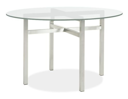 Most Up To Date Benson Rectangle Dining Tables In Benson Dining Tables In Stainless Steel – Modern Dining Tables (View 15 of 20)