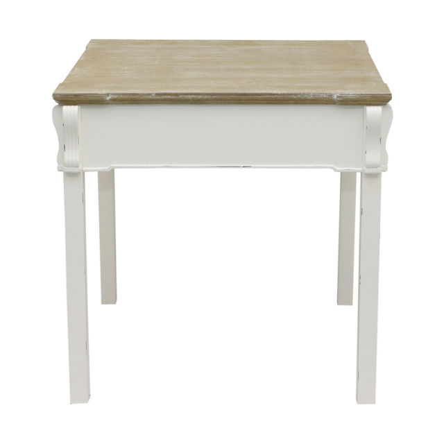 Most Up To Date Bentley Home Shabby Chic Dining Table Vintage French Style – White In French Chic Dining Tables (View 16 of 20)