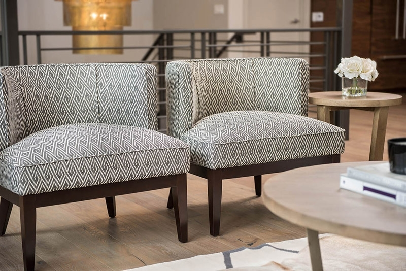 Most Up To Date Chandler Fabric Side Chairs With Regard To Chandler Occasional Chair – Alder & Tweed Furniture (View 17 of 20)