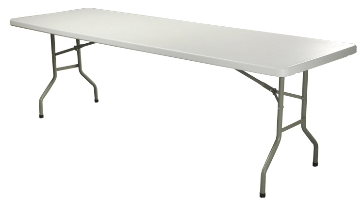 Most Up To Date Cheap Folding Dining Tables In Ikayaa 6Ft Long Portable Folding Camping Picnic Bench Heavy Duty (View 12 of 20)
