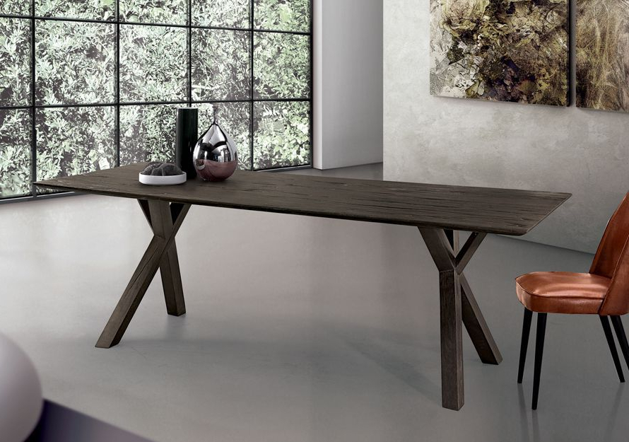 Most Up To Date Contemporary Dining Table / Oak / Solid Wood / Rectangular – Tree In Tree Dining Tables (View 7 of 20)