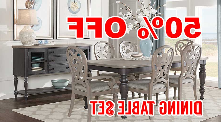 Featured Photo of Crawford 6 Piece Rectangle Dining Sets