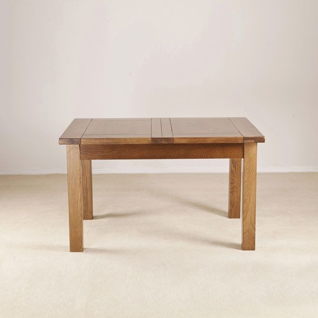 "Most Up To Date Dijon 4'6"" Extending Dining Table In Extending Dining Tables (View 18 of 20)"