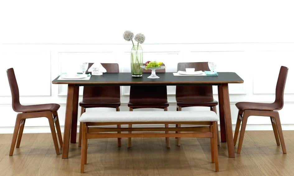 Most Up To Date Dining Room Astonishing Ashley Table Sets Black And 6 Chairs For Round 6 Person Dining Tables (View 19 of 20)
