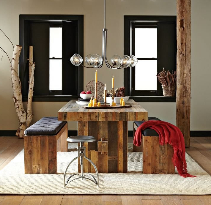 Most Up To Date Dining Tables And 2 Benches With Regard To Modern Bench Style Dining Table Set Ideas (View 16 of 20)