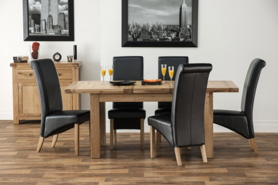 Most Up To Date Dining Tables And Fabric Chairs Pertaining To Belgravia (View 13 of 20)