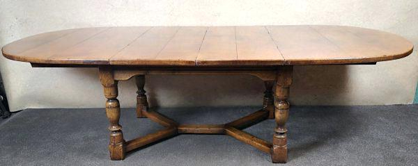 Most Up To Date English Dining Table Magnolia Homeroom Country Oval Oak And Intended For Magnolia Home English Country Oval Dining Tables (View 18 of 20)
