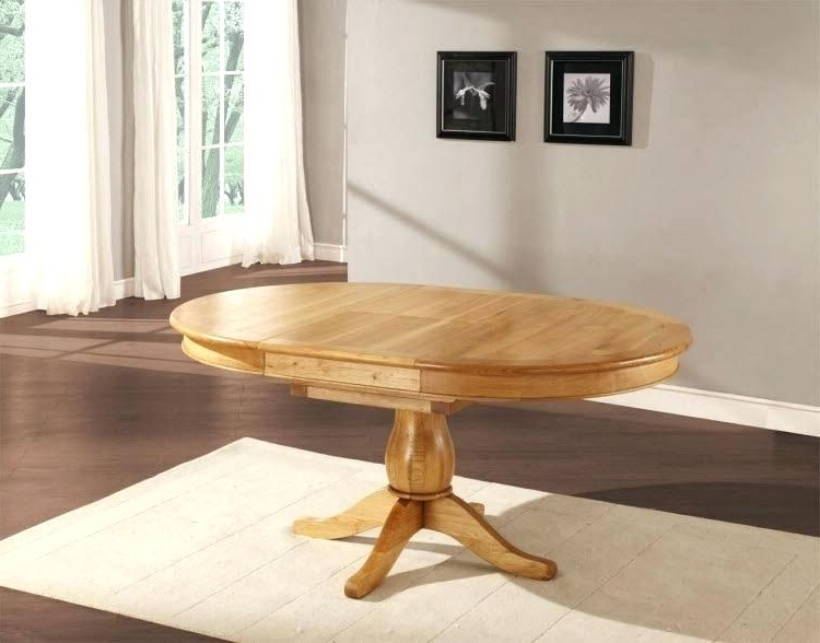 Most Up To Date Extending Round Oak Dining Table And Chairs – Round Table Ideas Within Round Oak Extendable Dining Tables And Chairs (View 17 of 20)