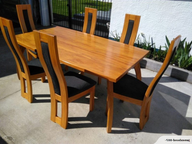 Most Up To Date Gavin Cox Dining Room Table And Chairs (View 18 of 20)