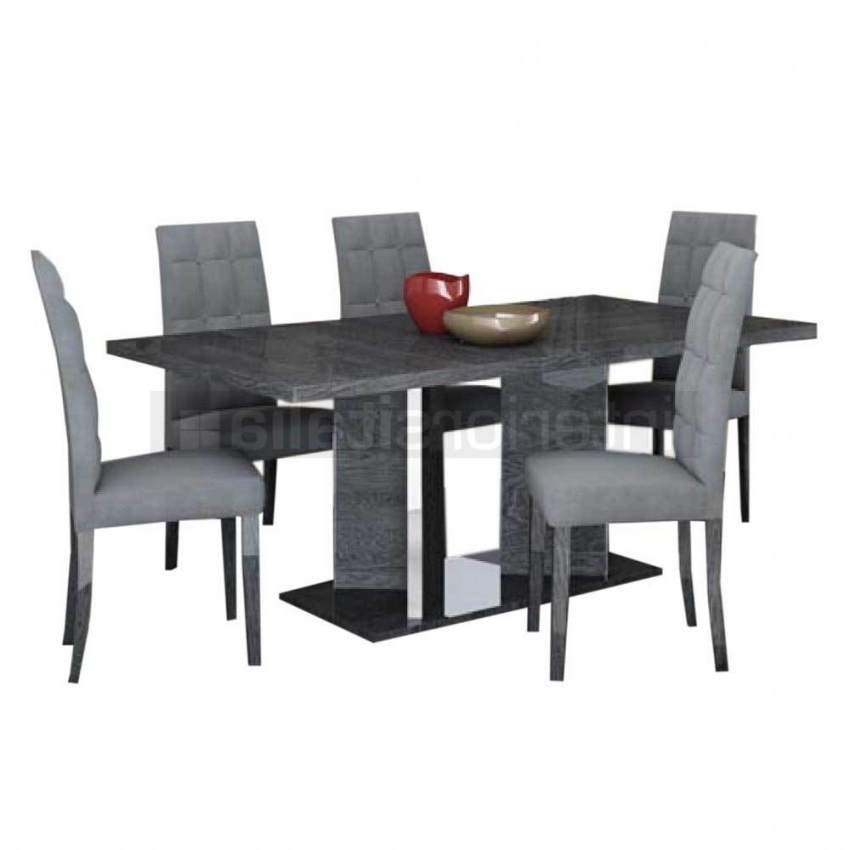 Most Up To Date Gloss Dining Set (View 14 of 20)