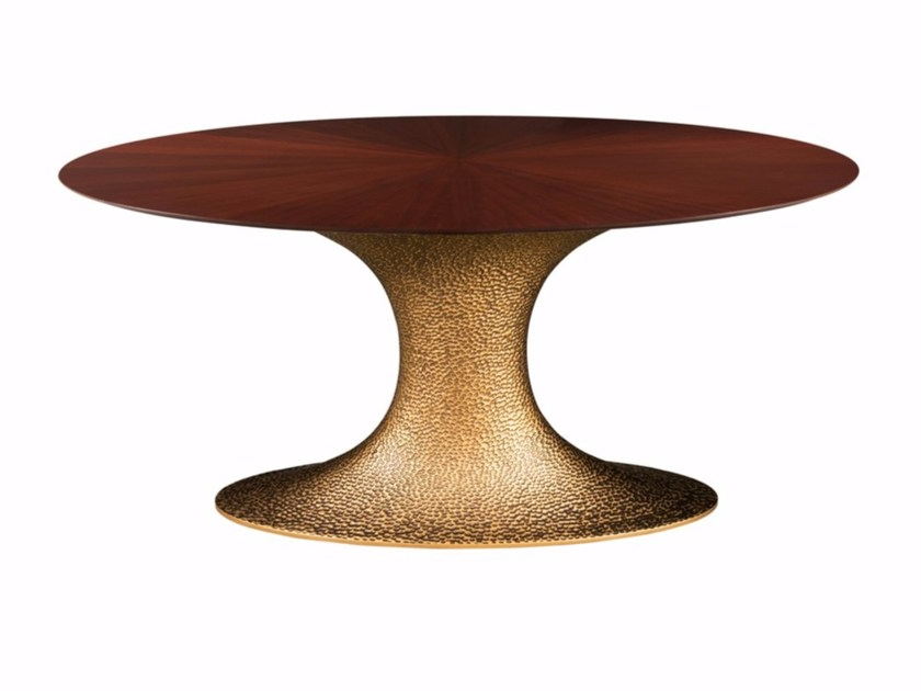 Most Up To Date Hamilton Dining Tables With Regard To Inès Hammered Oval Dininghamilton Conte Paris (View 13 of 20)
