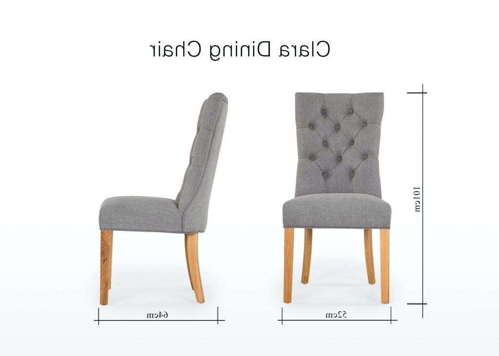 Most Up To Date Hayden Cognac Side Chairs In Chair : Grey Dining Chairs Best Of 13 Unique Grey Fabric Dining Room (View 13 of 20)